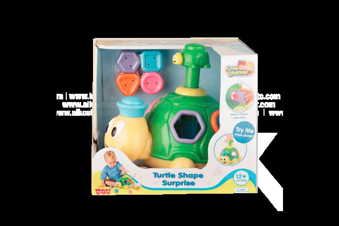 LITTLE LEARNER Tortuga Infantil Shape Surprise