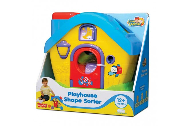 LITTLE LEARNER Set Playhouse Shape Sorter