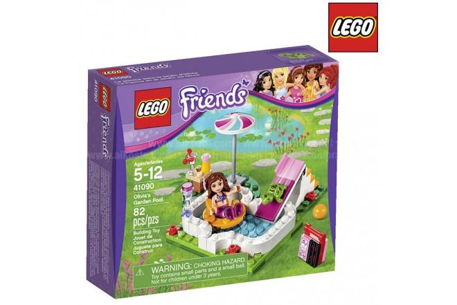 La Piscina en el Jardín de Olivia LEGO