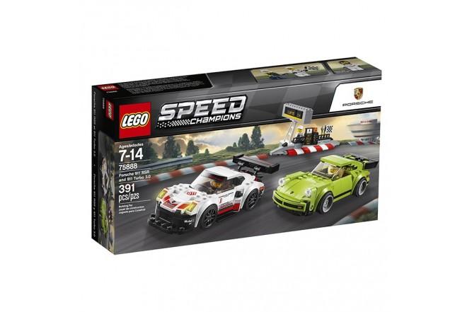 LEGO Porsche911 Rsr Vs 911 Turbo3.0