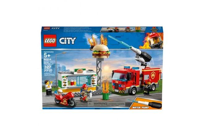 LEGO® City El Rescate del Bar de Hamburguesas1