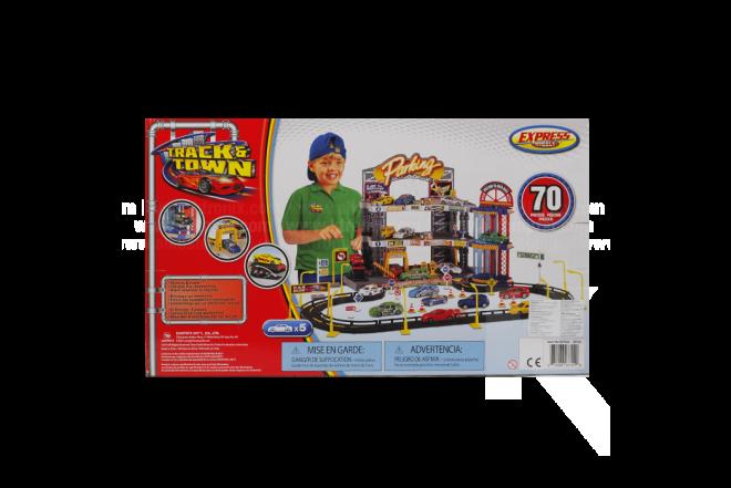 Playset Garage Track N' Town