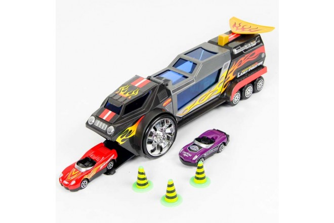 EXPRESS WHEELS Playset Lanza Vehículos launch speedsters