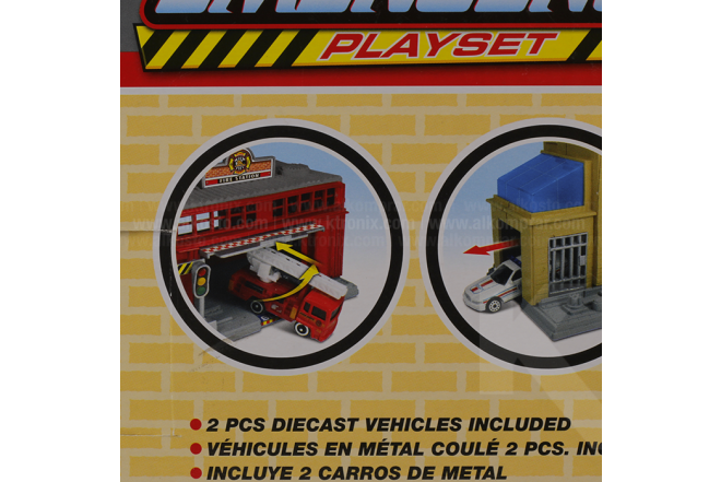 Playset Emergencia Express Wheels