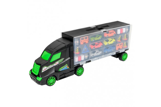 EXPRESS WHEELS Transportador Con 6 Vehículos  48 Cm