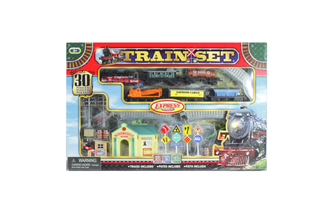 Set de Trenes Express Wheels