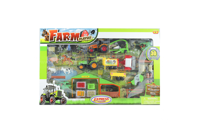 Set De Granja EXPRESS WHEELS Farm