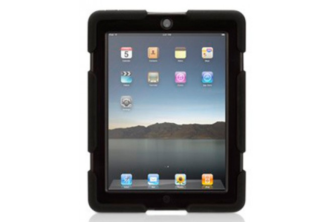 Funda GRIFFIN Survivor Negra para iPad3