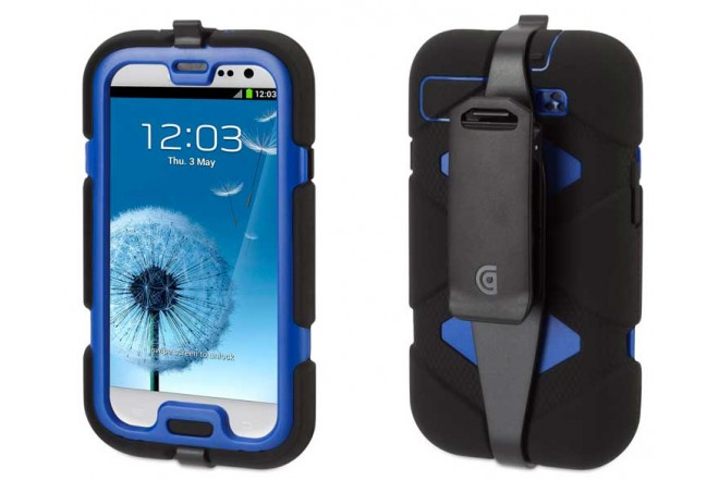 Funda GRIFFIN Survivor S3 Negro/Azul
