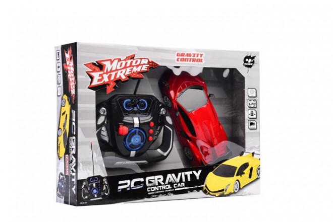 Auto Gravity control radio control escala 1:20 Happy Line Rojo