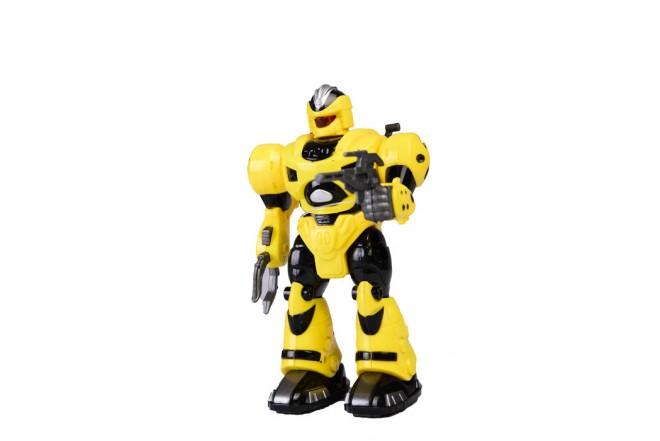 Robót con luz y sonido Happy Line Amarillo