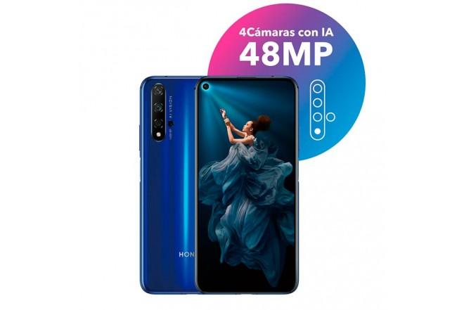 Celular HONOR 20 - 128GB Azul12