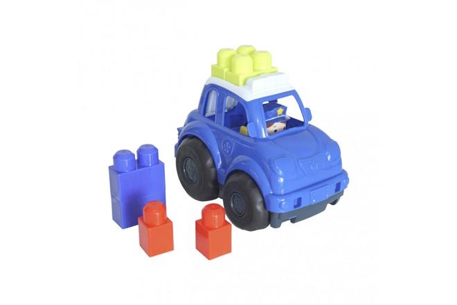 Juguete Carro de Policía 6 Bloques para Bebé HAPPY LINE_5