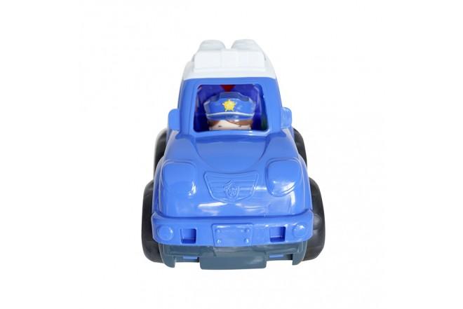 Juguete Carro de Policía 6 Bloques para Bebé HAPPY LINE_1