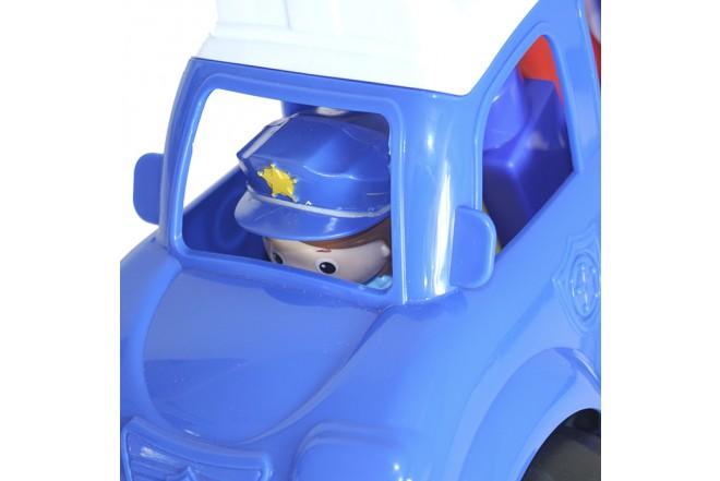 Juguete Carro de Policía 6 Bloques para Bebé HAPPY LINE_2