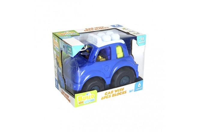Juguete Carro de Policía 6 Bloques para Bebé HAPPY LINE_3