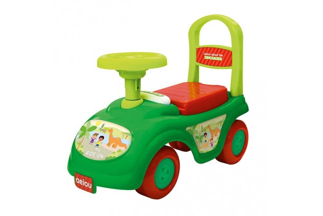 MY LITTLE KIDS Montable my ride on verde