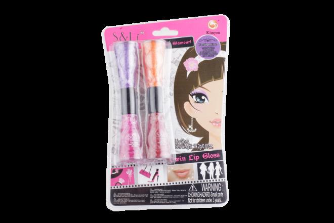 Juguete Set Belleza S&Lí Cosmetics Brillo de Labios (Juguetes)