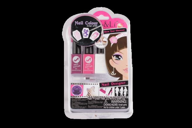 Juguete Set Belleza S&Lí Cosmetics Diseño de Uñas (Juguetes)
