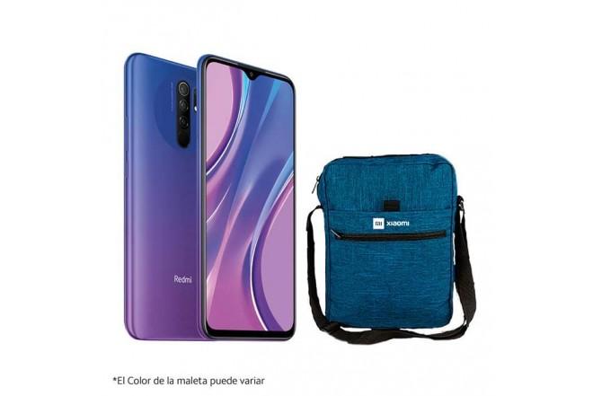 Celular XIAOMI REDMI 9 64GB Morado - Sunset Purple + Maleta_1
