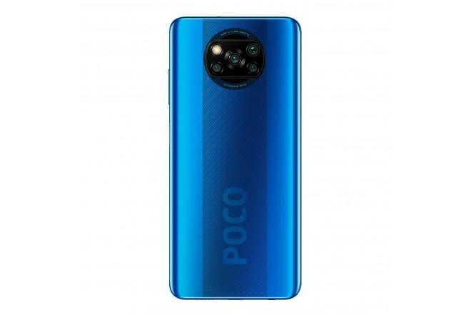 Celular XIAOM POCO X3 -128GB Azul -Cobalt Blue-3