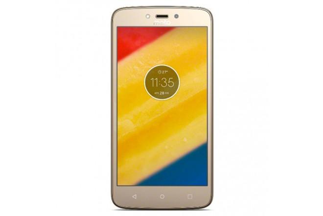 Celular Libre Moto C Plus 4G Dorado