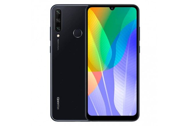 Celular HUAWEI Y6P 64GB Negro_1