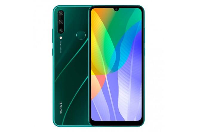 Celular HUAWEI Y6P 64GB Verde_1