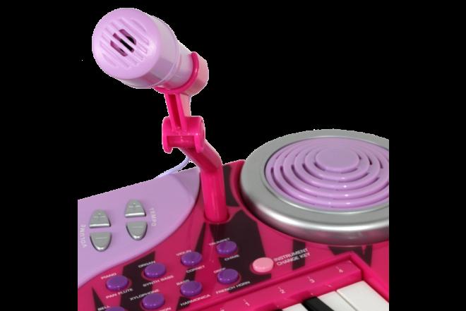 Piano Eléctrico 37 Teclas Musical Keyboard Rockin' Girl (Juguetes)