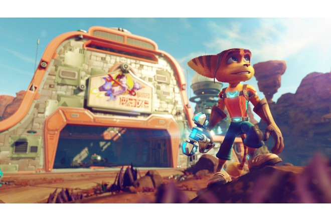 Juego PS4 Ratchet & ClanK Hits 4