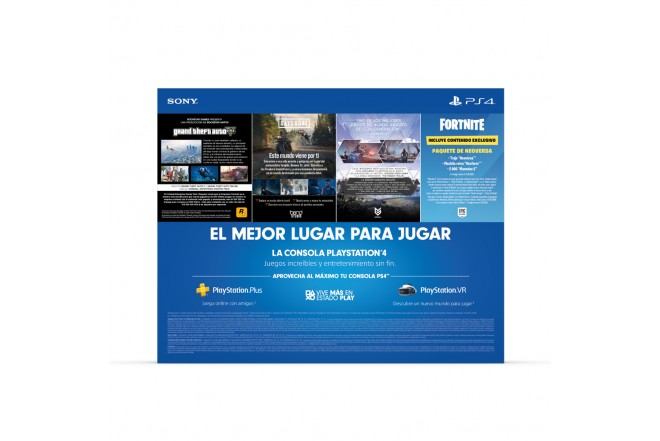 Consola PS4 1TB + 1 Control + 3 Juegos 6