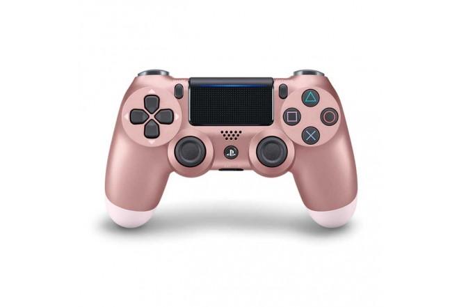 Control PS4 DS4 Rosado/Dorado 1