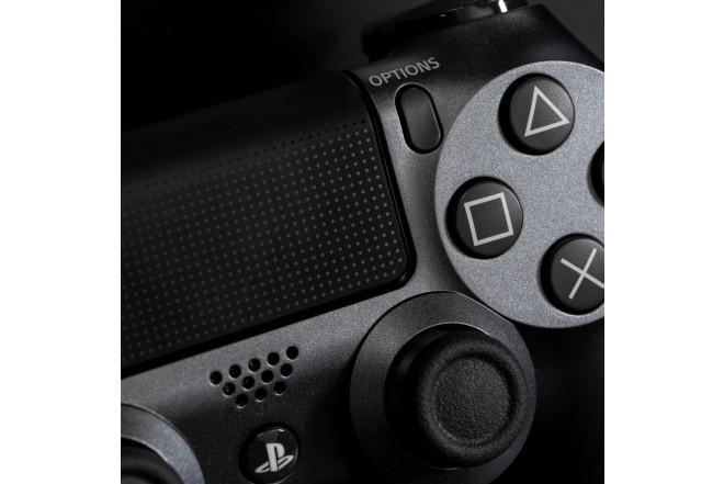 Control PS4 DS4 Negro Steel  4