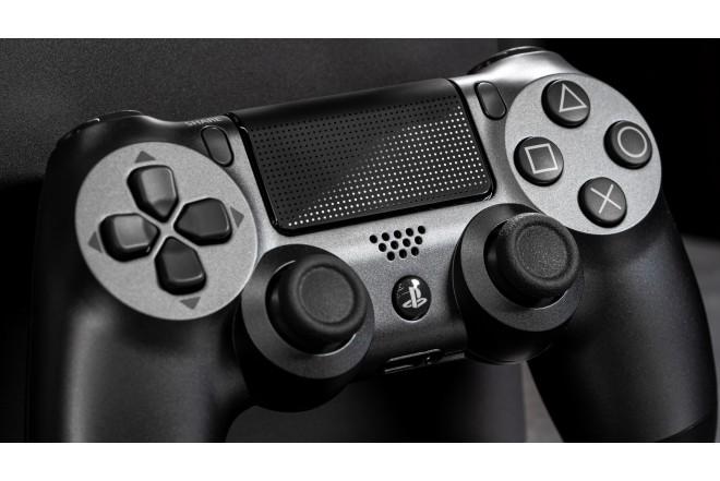 Control PS4 DS4 Negro Steel  6