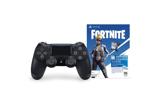 Control PS4 DS4 Negro+ Contenido Fortnite 1