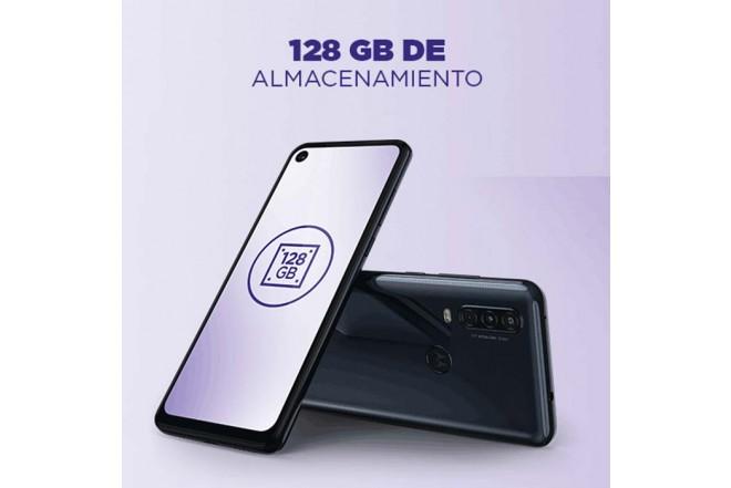 Celular MOTOROLA One Action 128GB Azul6