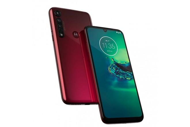 Celular MOTOROLA G8 Plus 64GB Rojo4