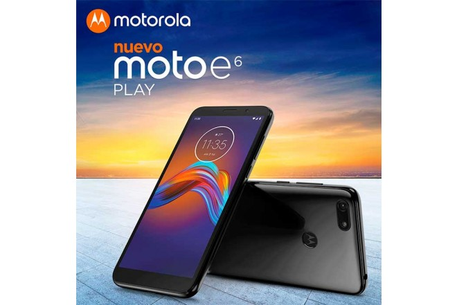 Celular MOTOROLA E6 Play 32GB Negro16