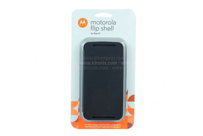 FlipCover Motorola Nuevo Moto G Negro