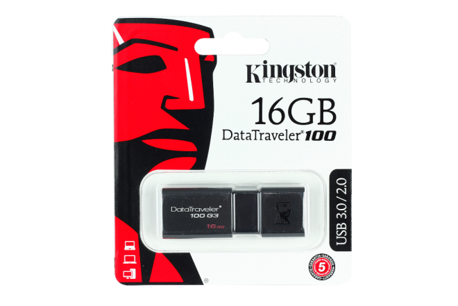 Memoria KINGSTON 16GB Negro