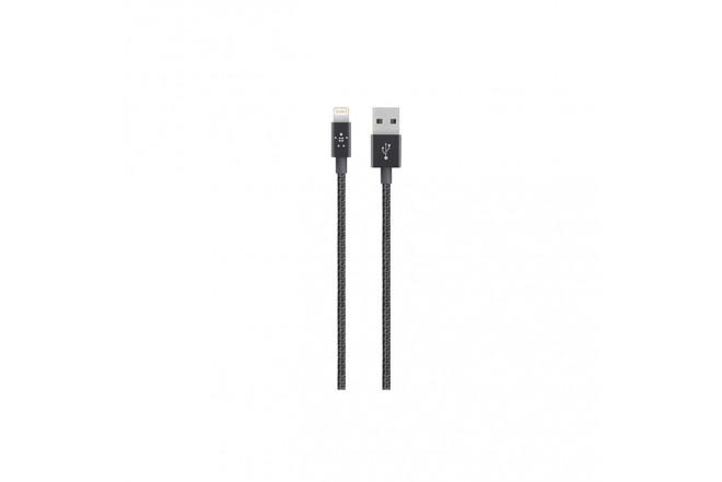 Cable BELKIN USB/Lightning 1,2M Negro Premium