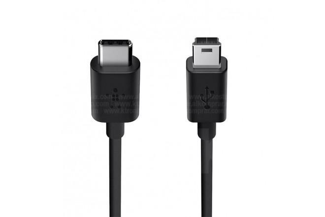 Cable BELKIN USB-C a USB MinB 2.0
