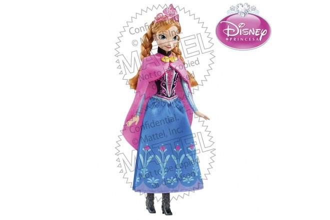 Princesa Anna DISNEY PRINCESS Frozen