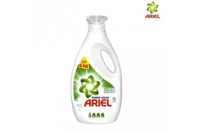 Detergente ARIEL Líquido Power 2L