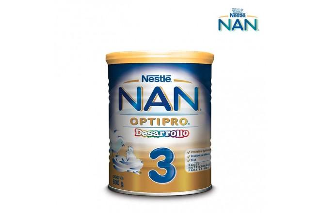 Fórmula Láctea NAN Pro 3 800g