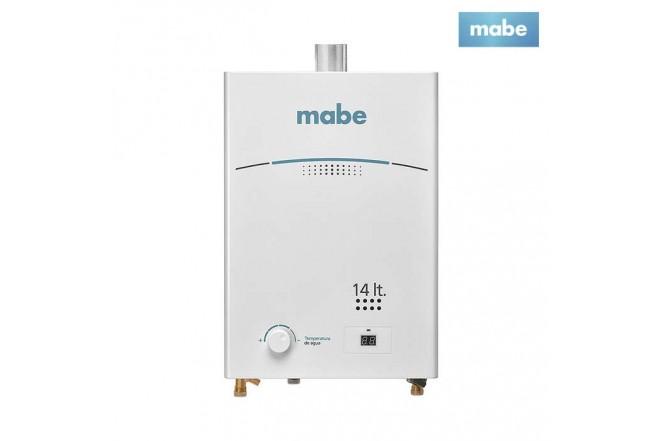 Calentador MABE de Tiro Forzado 14L CMD14TFBC Blanco