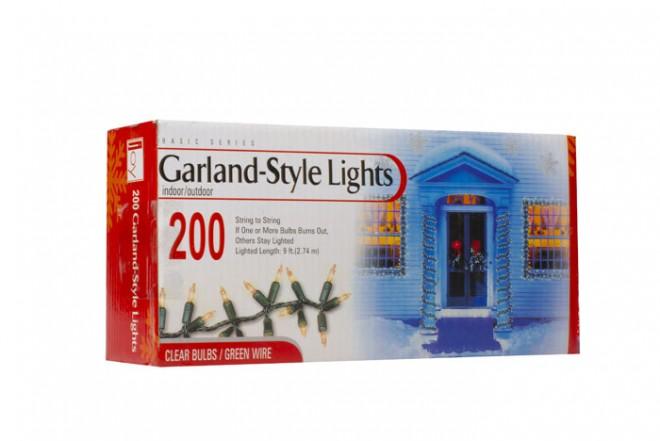 Set de luces JOY 200 Unidades Transparente ES43-960