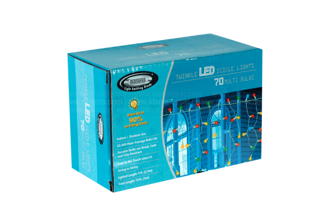 Luces Led 70 Bombillos intermitentes