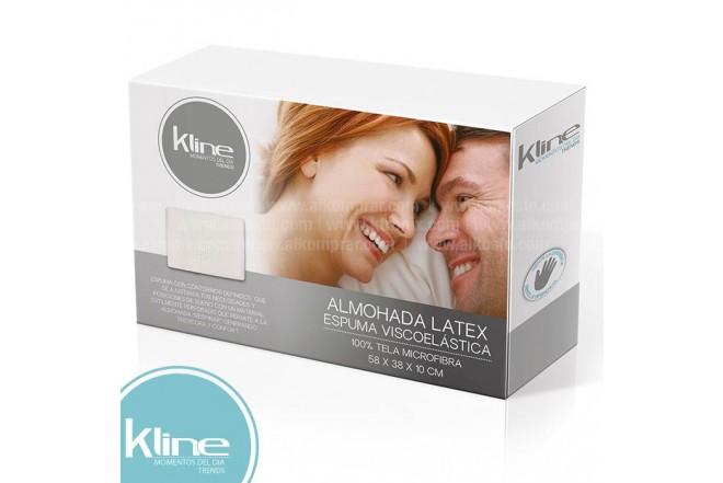 Almohada K-LINE Latex Espuma Viscoelástica 58x38x10 cm