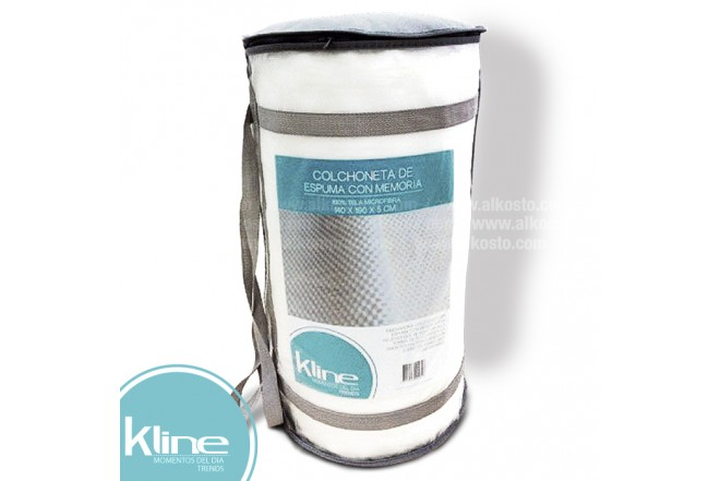 Colchoneta K-LINE viscoelástica 140x190x5 cm